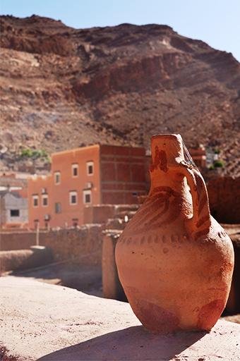 moroccan pottery, Morocco
