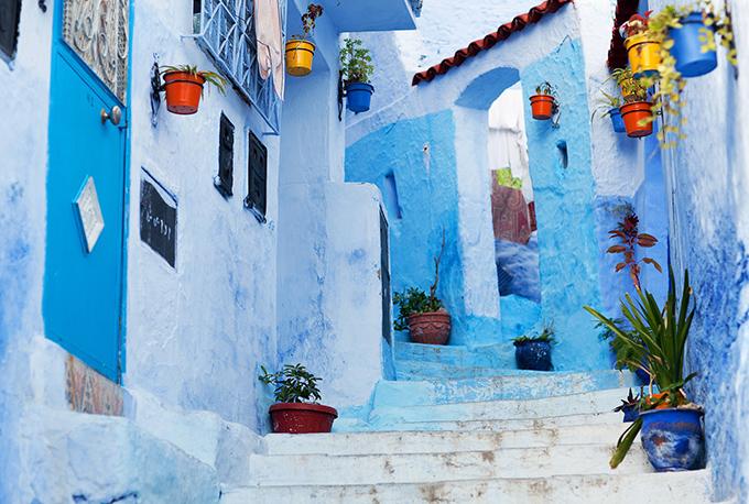 rue de chefchaouen, Maroc