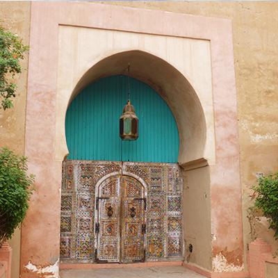 porte marocaine, Maroc
