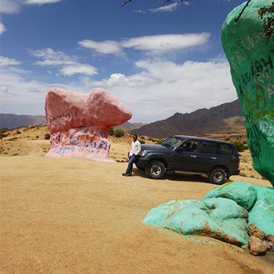 4x4 rocks, Morocco