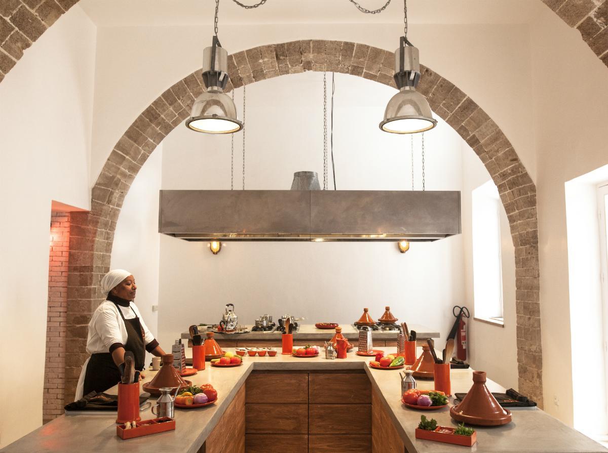 cooking workshop, Morocco