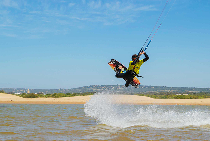 kitesurf in Essaouira, Morocco