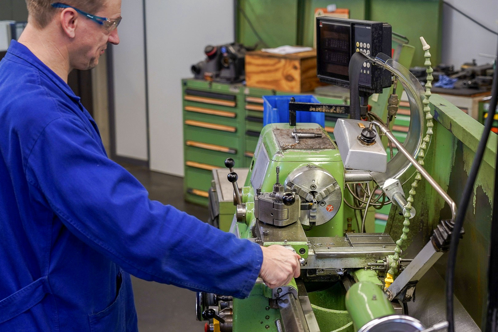 LHWS – Unsere Dienstleistungen: Metallbearbeitung