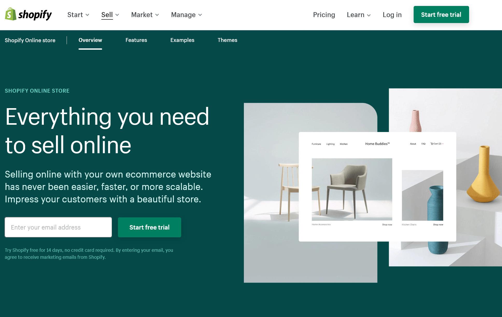 Experimentation at ecommerce SaaS company Shopify