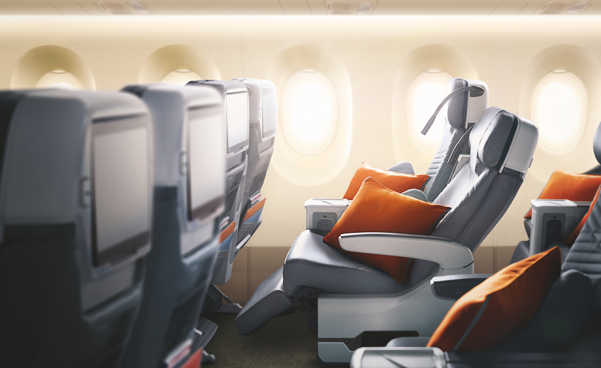 Singapore Airlines' Premium Economy on the A350-900ULR