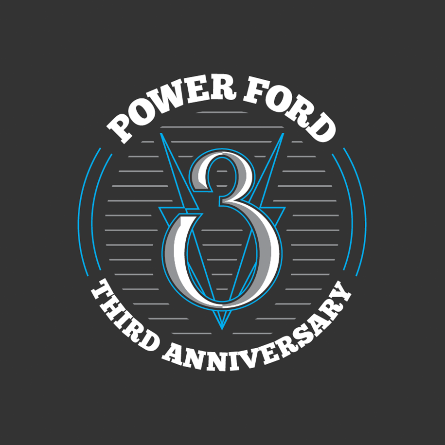 Power Ford 3rd Anniversary