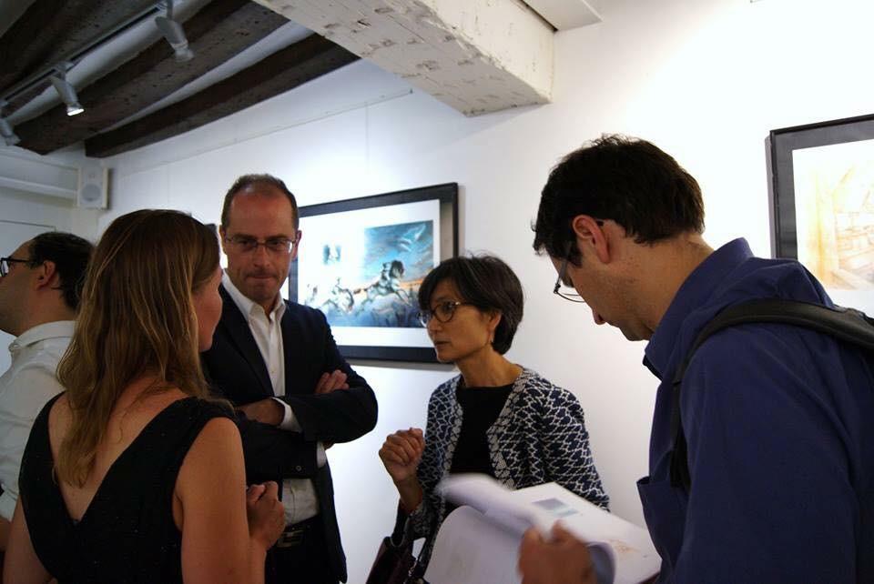 Vernissage de l'artiste Eloïse Scherrer - Exposition Sylvain de Sylvanie