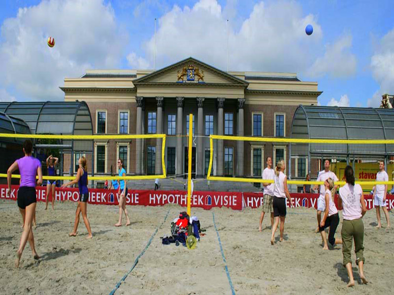 FIVB Beachvolleyballnetz