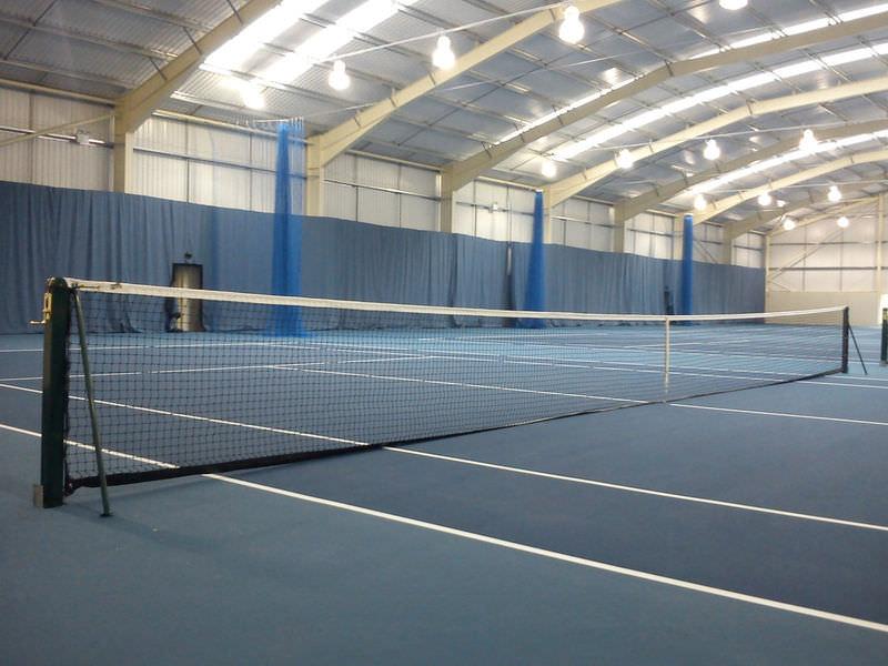 Tennisnetz,Einzelreihen