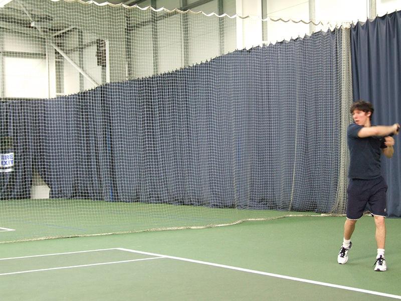 Tennisplatz Trennnetze