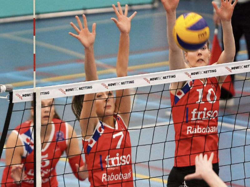 Bedrucken von Volleyballnetzeband