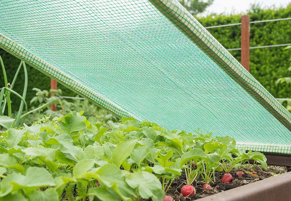 Verstärkte Gartenbaufolie