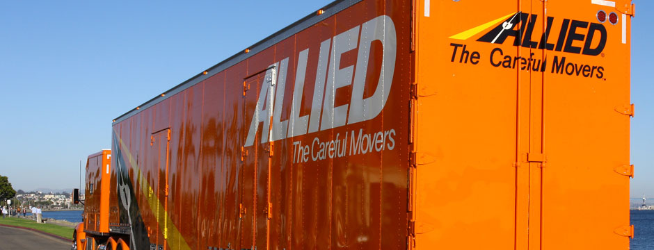 Allied Van Lines moving truck