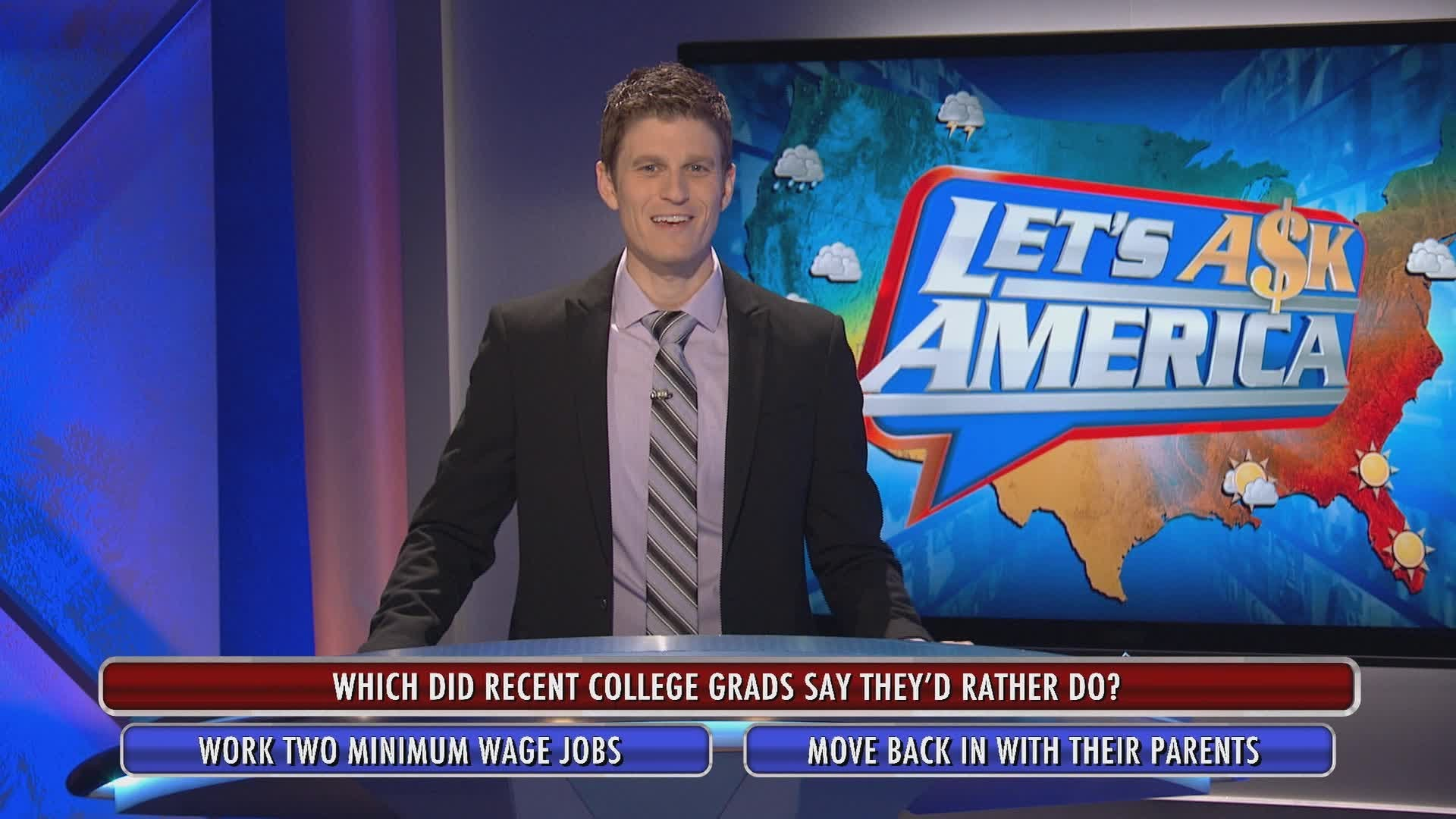 Let's Ask America host Kevin Pereira