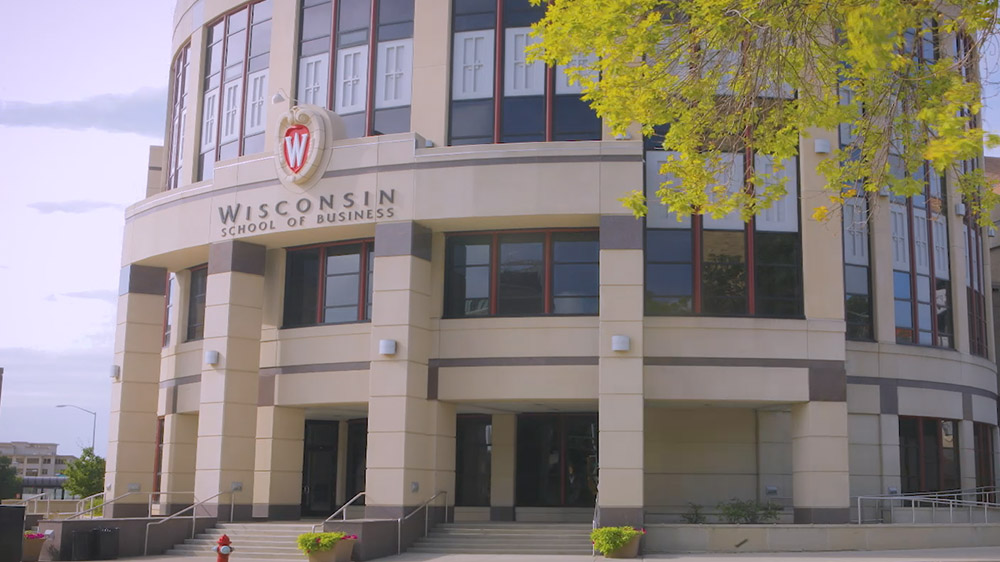 University of Wisconsin School of Business naming project photo