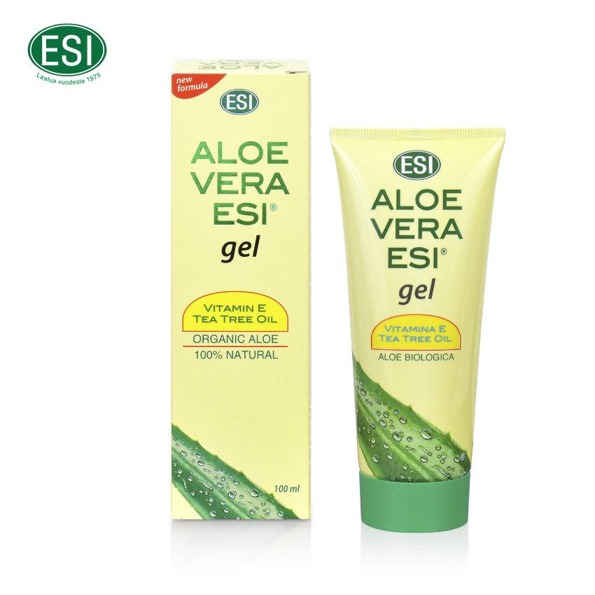 Tuotekuva Aloe Vera Vit. E ja Tea tree geelistä.
