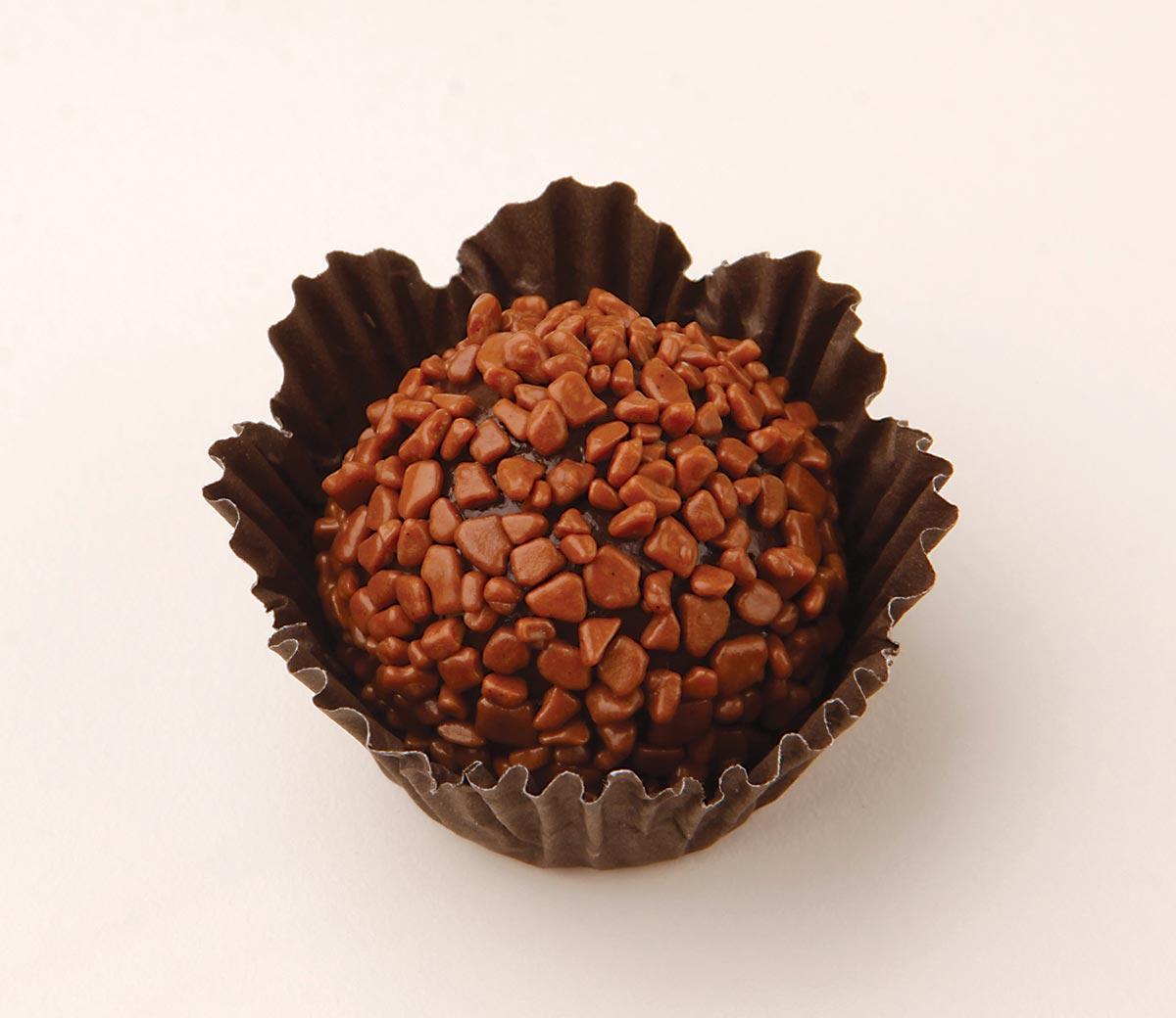 foto de brigadeiro de chocolate ao leite