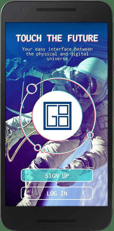 VISIONG8 App Screen