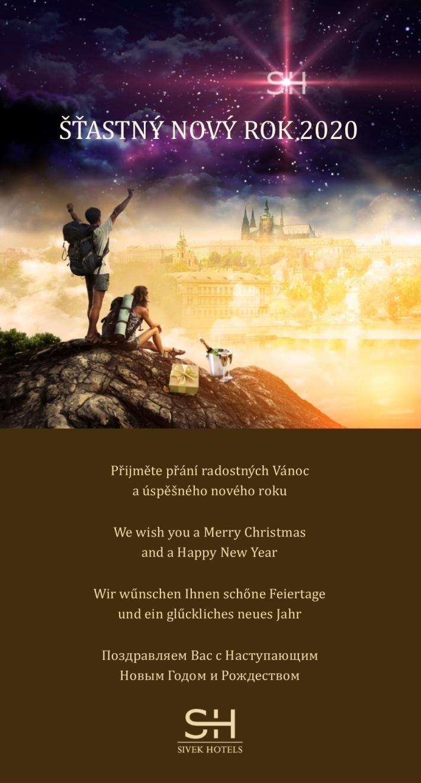 Šťastný nový rok 2020 - Sivek Hotels