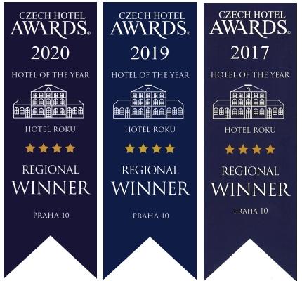 Czech Hotel Awards 2017, 2019 a 2020