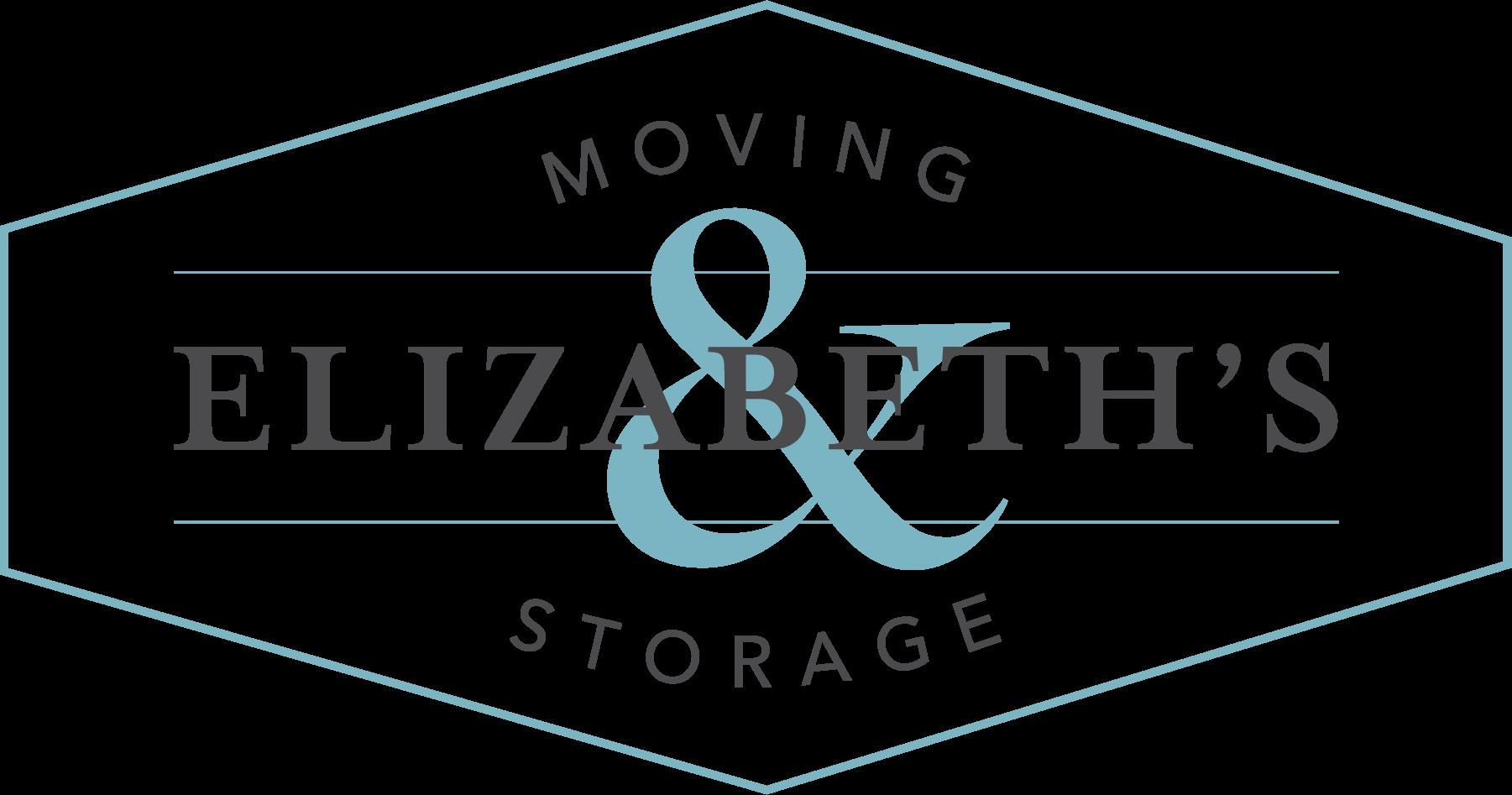 Elizabeth Moving and Storage Logo - Teal