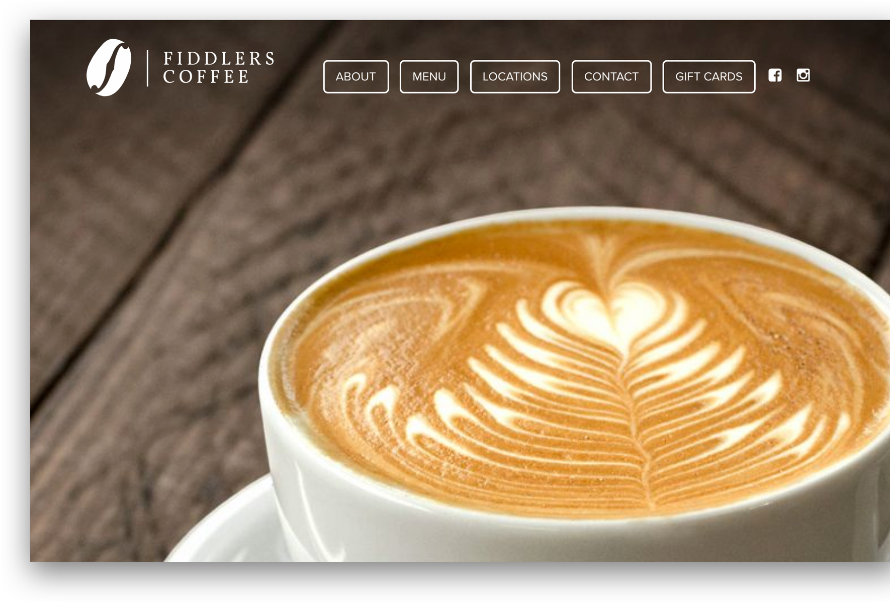 Fiddlers Coffee Website