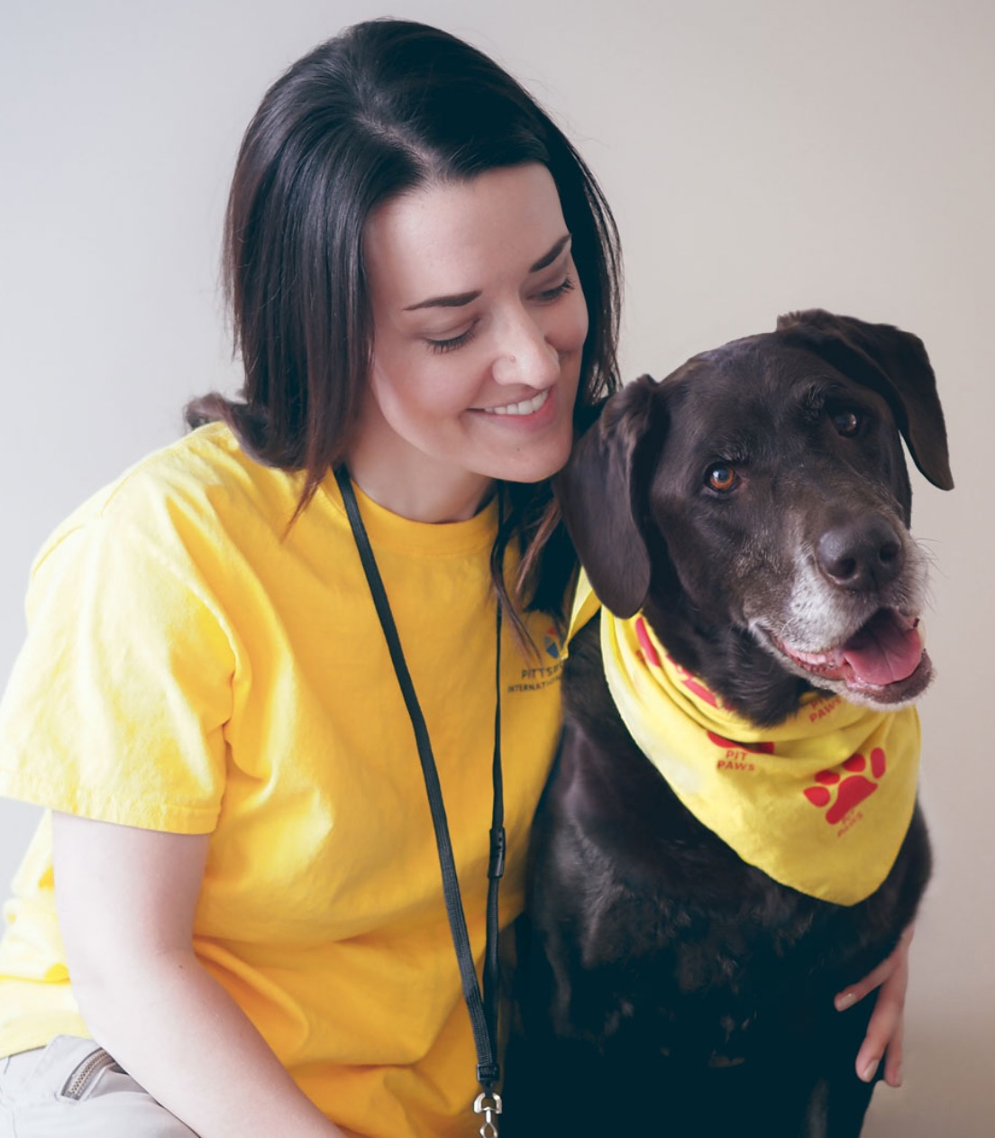 Tara Hoover and Juno, Therapy Dog Team