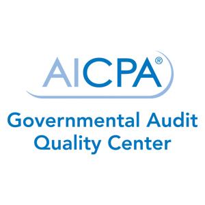 AICPA: Governmental Audit Quality Center  Logo