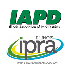 Illinois Association of Park Districts and Illinois Park & Recreation Association Logos