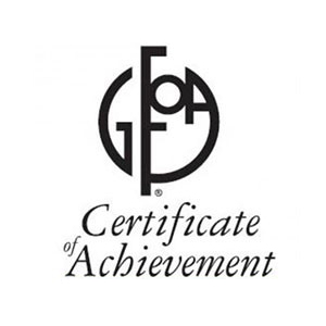 Special Review Committee GFOA - Certificate of Achievement Logo