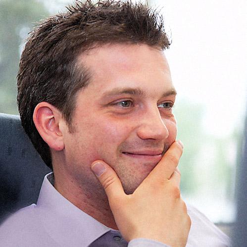 Portrait Dr. Marc Egger