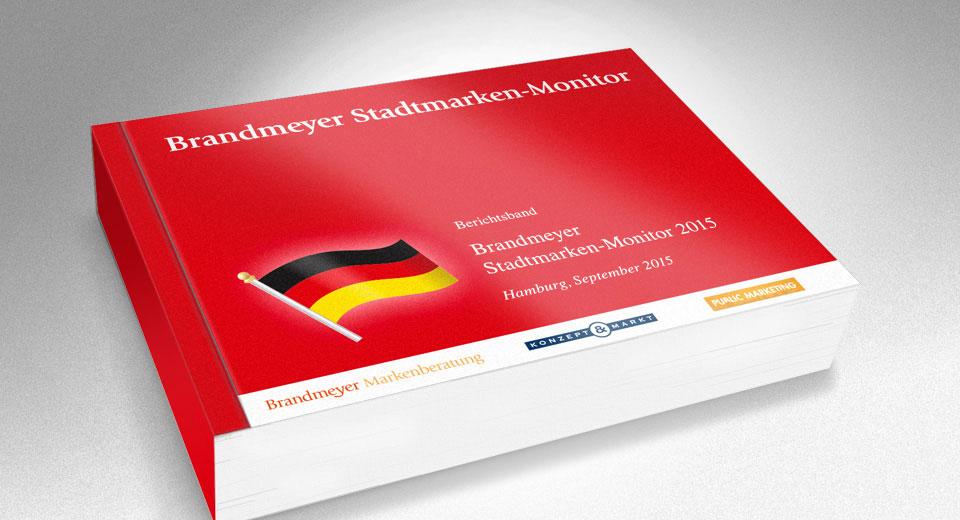 Studie Stadtmarken-Monitor Deutschland 2015
