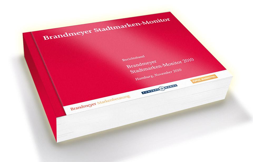 Brandmeyer Stadtmarken-Monitor Deutschland 2010