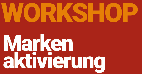 Das Label Workshop Markenaktivierung