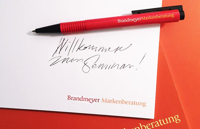 Seminar Markentechnik Titelbild