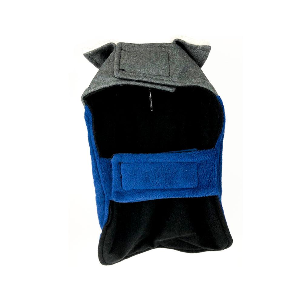 Blue Grey Coat