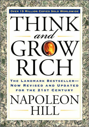 Image result for Think and Grow Rich by Napoleon Hill.