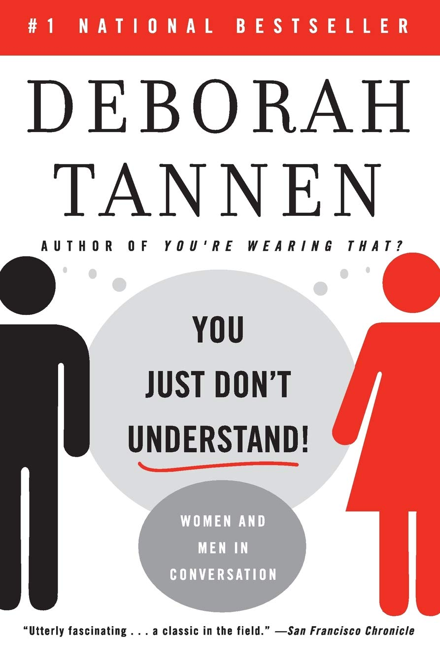 Image result for you just don't understand by deborah tannen