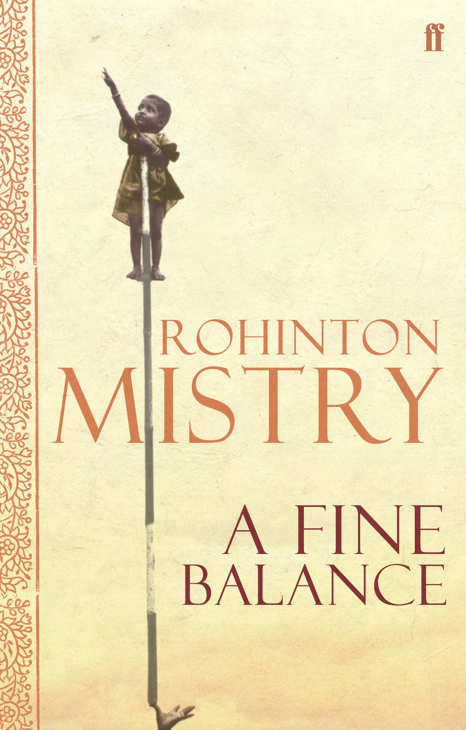 Image result for A Fine Balance - Rohinton Mistry
