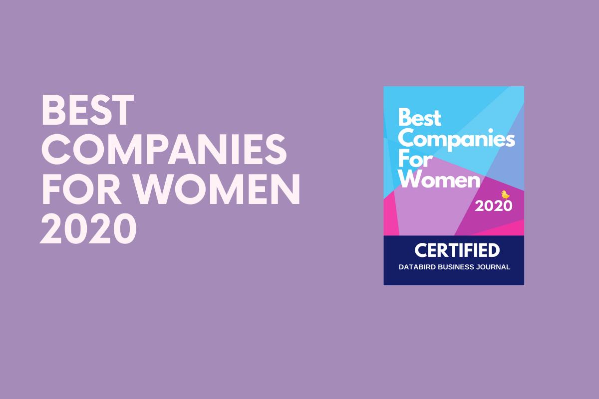 Best Companies for Women 2020