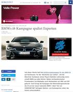 """Von """"Phrasendrescherei"""" bis """"spektakulär"""": BMWs i8-Kampagne spaltet Experten"""