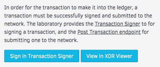 Transaction Signer
