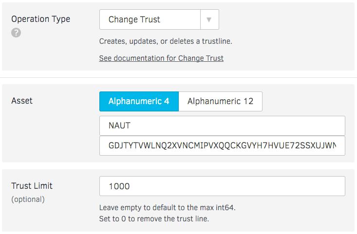 Change Trust