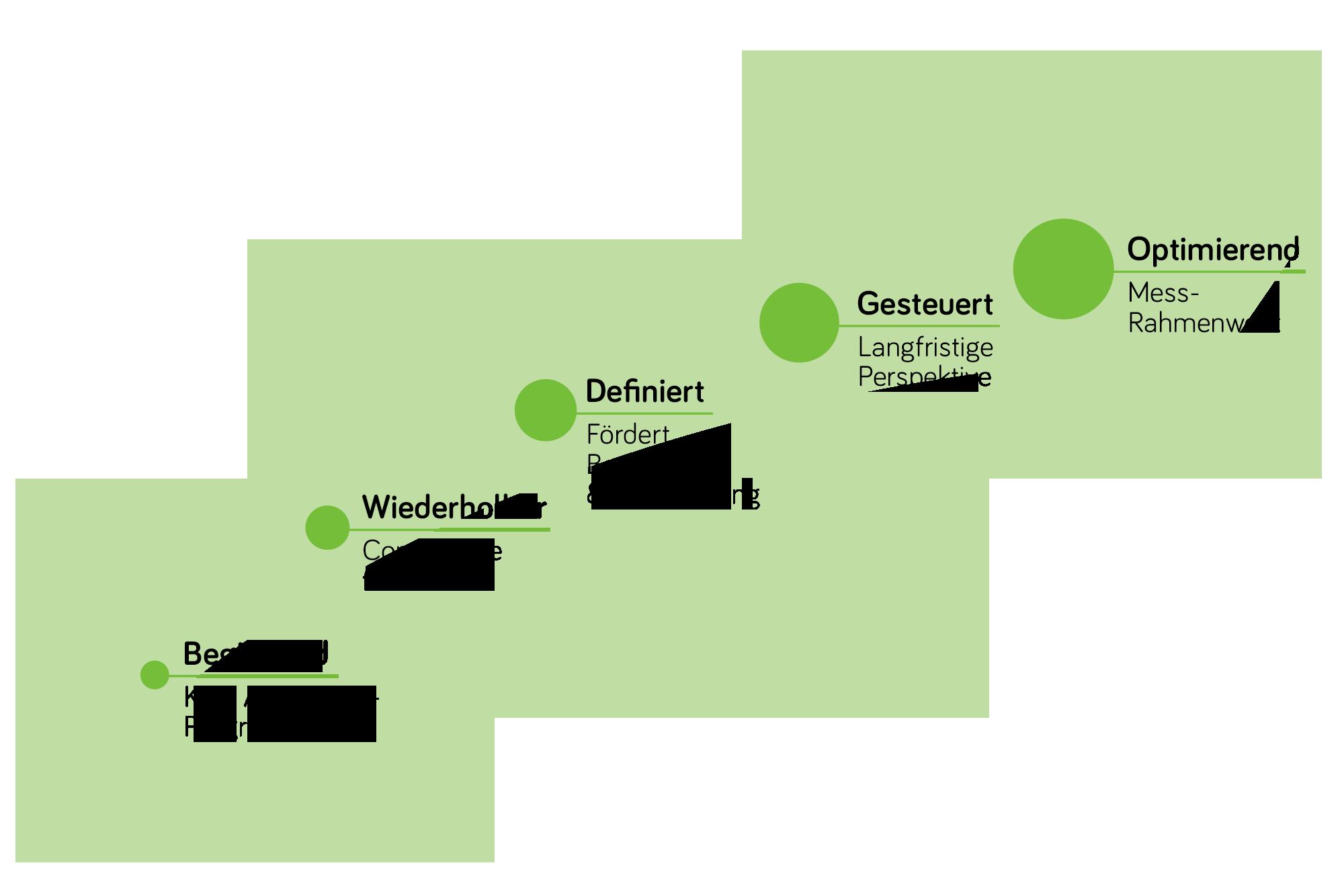 Reifegradmodell (CMM - Capability Maturity Model) der Sicherheitskultur