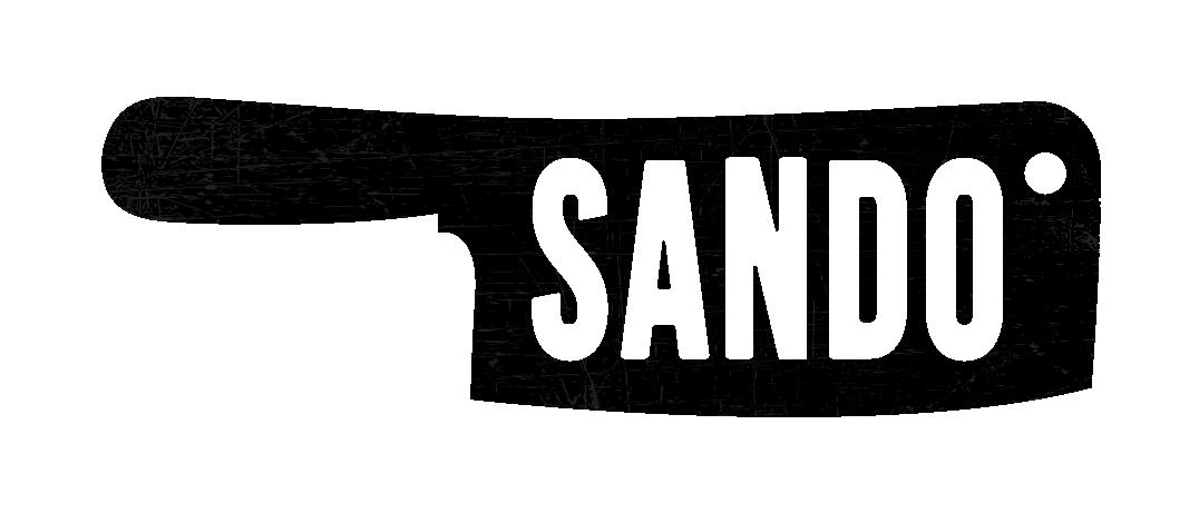 Sando resturant branding logo