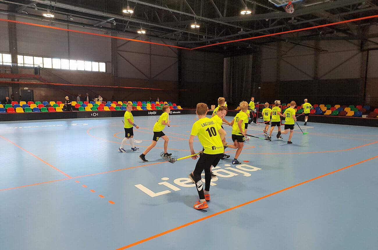 FK Jenoti sāk dalību Latvijas U12 čempionātā florbolā