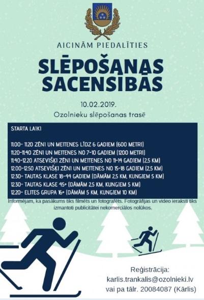 Ozolnieku Ziemas slēpošanas sacensības