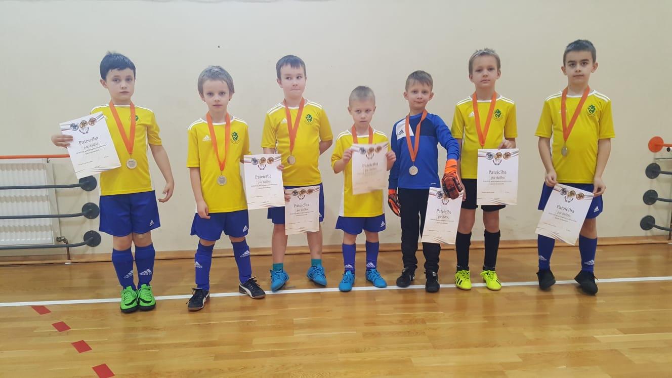 Turpinās LFF Zemgales reģiona telpu futbola čempionāts