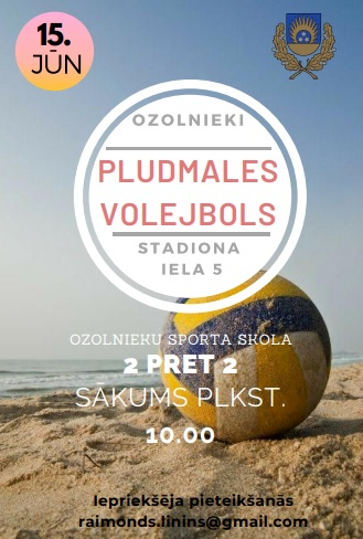Ozolnieku pludmales volejbola turnīrs