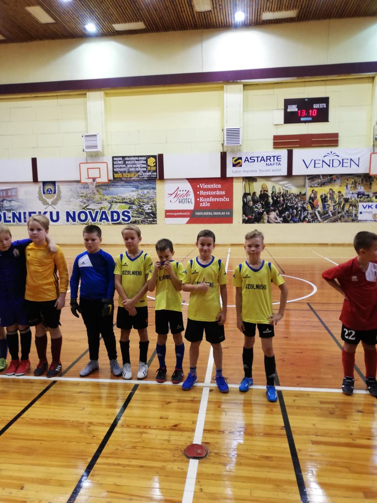 Ozolnieku Sporta skolas telpu futbola čempionāts 2019. gadā